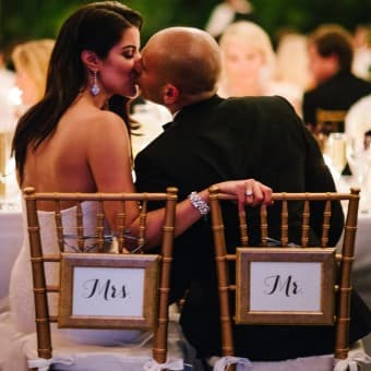 Black, White, & Gold Wedding at Raleigh Miami Beach