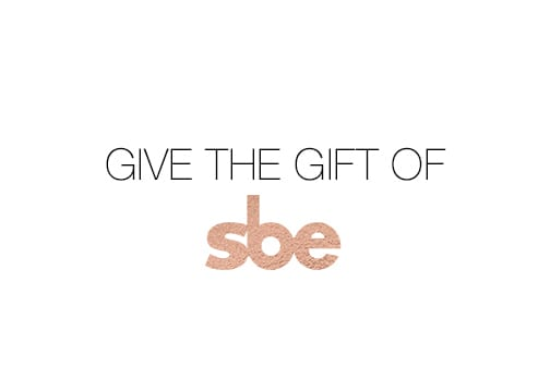 Give the Gift of Luxury and Style with an sbe Gift Card!