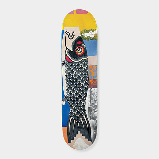 Robert_Rauschenberg_Double_Luck_Fish_Skateboard_Limited_Edition