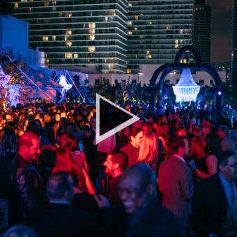 VIDEO: SLS Brickell Grand Opening Party