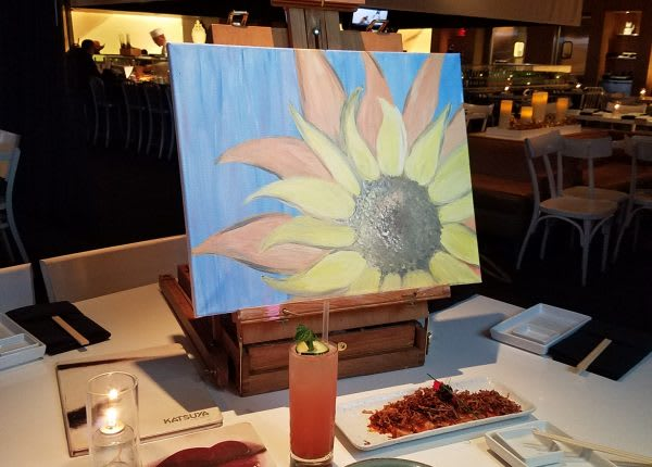 Paint Nite at Katsuya Glendale