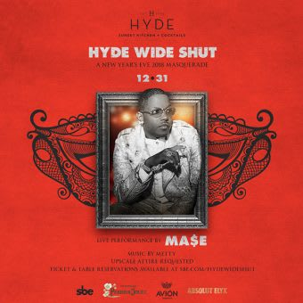 HYDE Wide Shut Masquerade