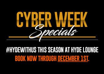 #HYDEwithus with a Season of Savings!