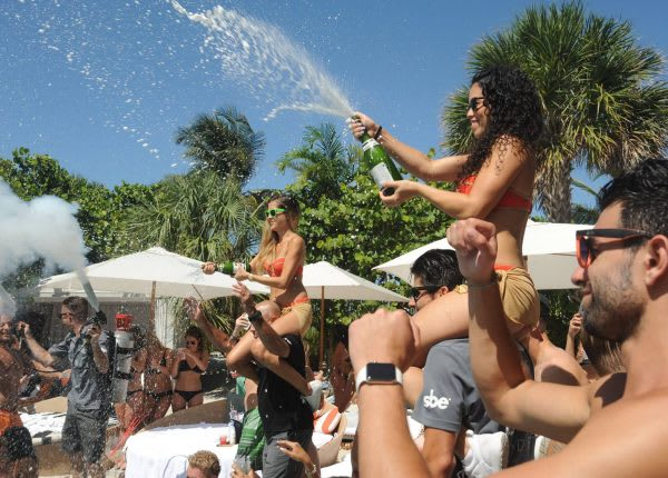 Doheny Room at Delano and Hyde Beach take over SLS Baha Mar