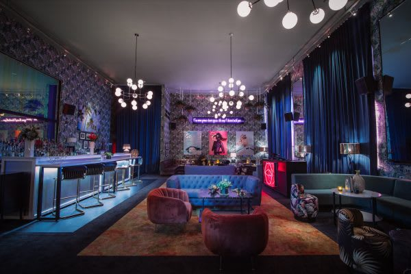 South Beach Nightlife | Doheny Room at Delano